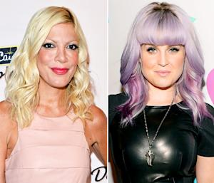 "Tori Spelling Calls Katie Holmes a ""Plastic"" Robot, Kelly Osbourne Tells Lady Gaga to ""Eat My S***"": Top 5 Stories"