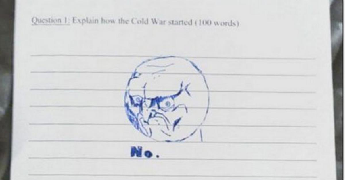 18 People Taking Test Answers To a Whole New Level