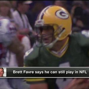 Could former Green Bay Packers quarterback Brett Favre still play in the NFL?