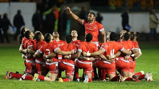 Tonga will be aiming to stay alive in 2013 World Cup on Tuesday.