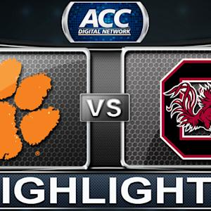 Clemson vs South Carolina | 2013 ACC Football Highlights