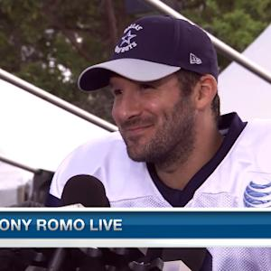 Dallas Cowboys quarterback Tony Romo: 'I'm excited about where we're at'