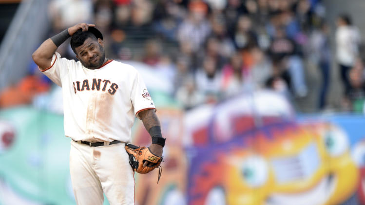 MLB: Cincinnati Reds at San Francisco Giants - Game 1