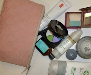 Made in Chelsea's Caggie Dunlop Shows us the Contents of her Makeup Bag Ahead of Tonight's Show