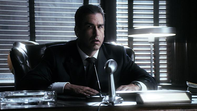 "This publicity image released by Comedy Central shows Rob Riggle as J. Edgar Hoover in a scene from ""Drunk History,"" airing Tuesdays at 10 p.m. on Comedy Central. (AP Photo/Comedy Central)"
