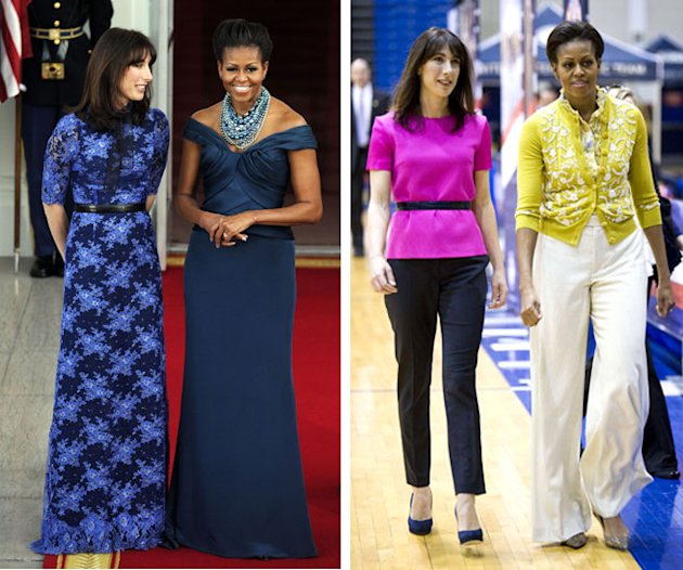 Are Michelle Obama and Samantha Cameron Taking Power Dressing To A Whole New Level?
