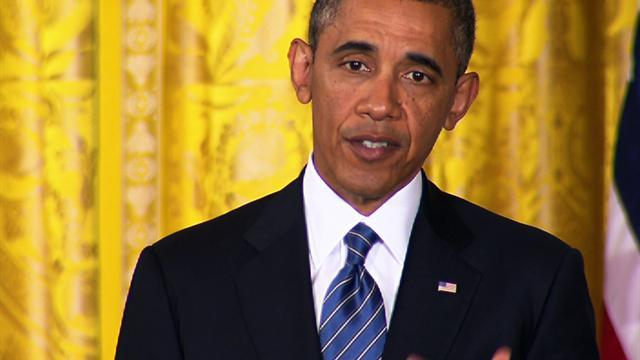 "Obama on sexual assault victims in the military: ""I've got their backs"""