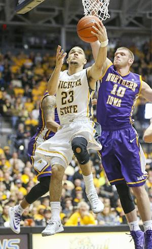 No. 8 Wichita State beats Northern Iowa 67-53