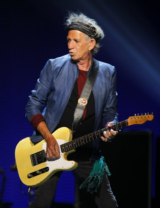 Richards of The Rolling Stones performs during their &quot;50 &amp; Counting&quot; tour in Anaheim