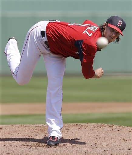 Buchholz pitches into 6th inning for Red Sox
