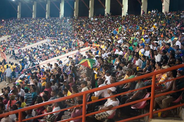 Guyana Amazon Warriors v Trinidad & Tobago Red Steel - CPL 2013