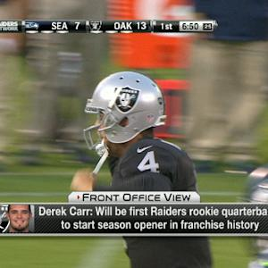 Is Oakland Raiders quarterback Derek Carr ready to be an NFL starting QB?