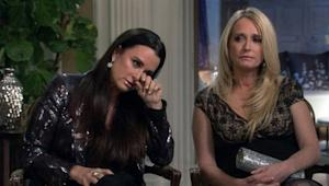 "THE REAL HOUSEWIVES OF BEVERLY HILLS -- ""Reunion -- Pictured: (l-r) Kyle Richards, Kim Richards"