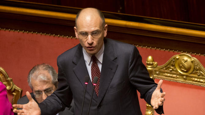 New Italian gov't confirmed by Senate