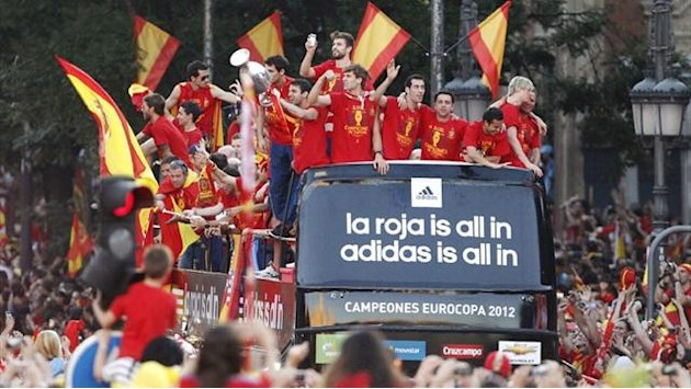 Spain's winning machine marches on