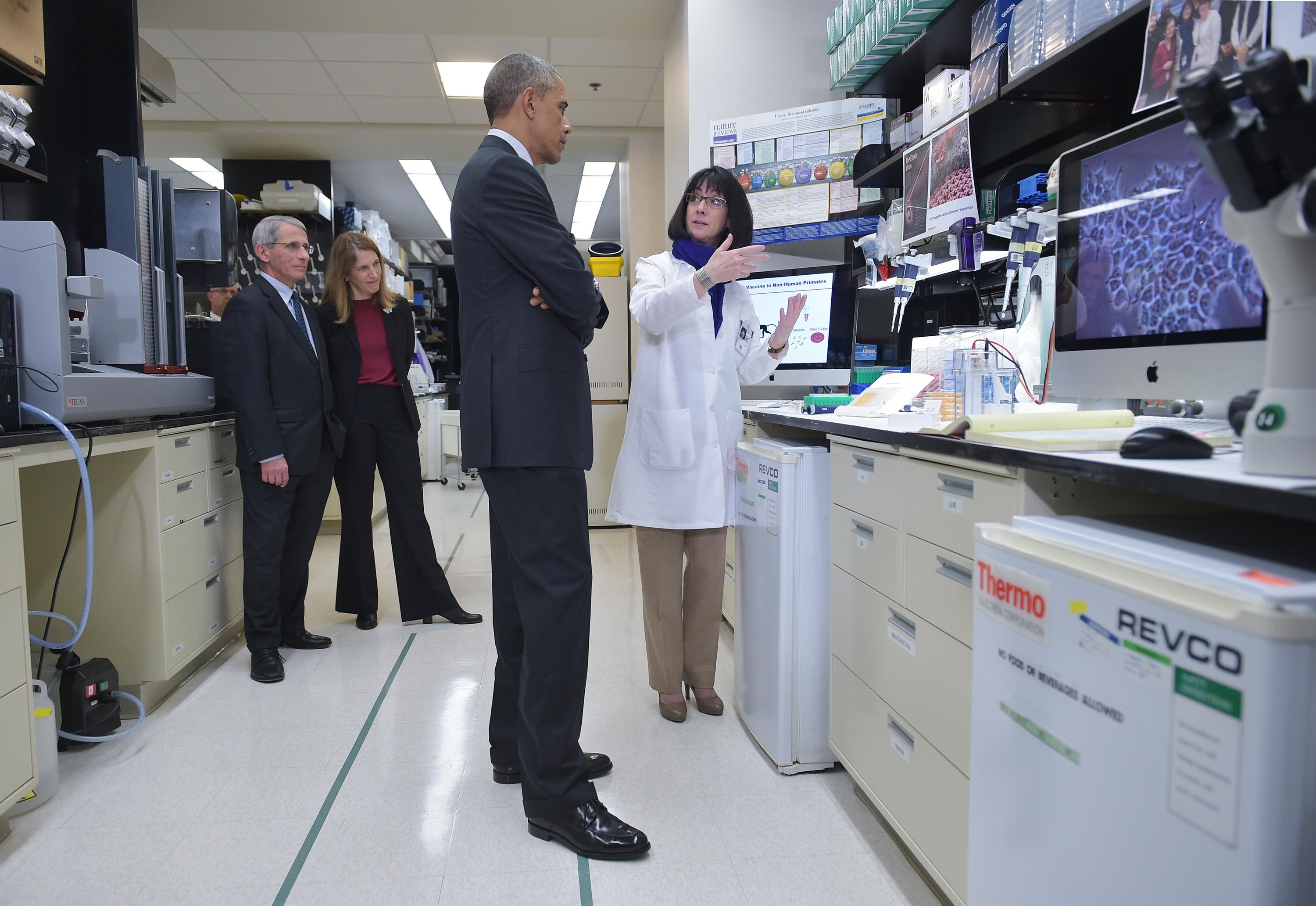 Obama hails 'boundless' promise of precision medicine