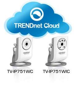 TRENDnet(R) Ships Cloud IP Cameras