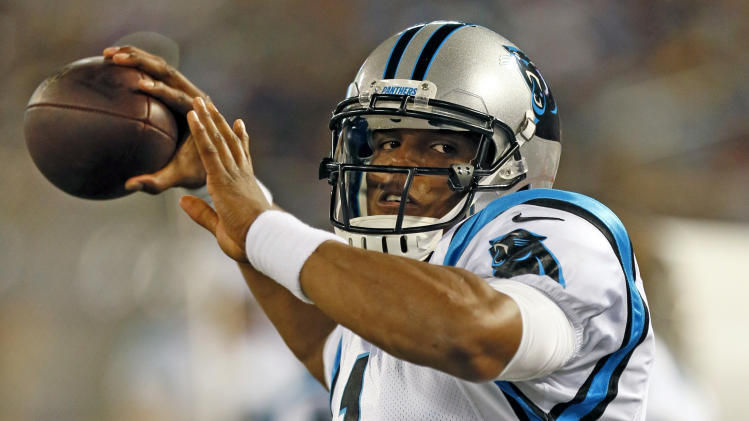 NFL: Preseason-Carolina Panthers at Baltimore Ravens