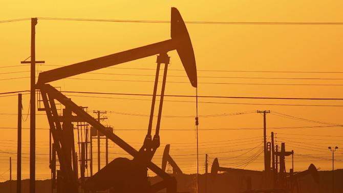 The price of West Texas Intermediate for August delivery fell 35 cents to $56.58 a barrel