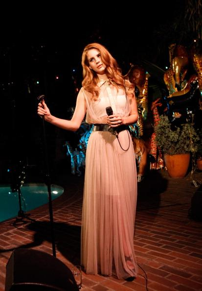 Performing at the Chateau Marmont