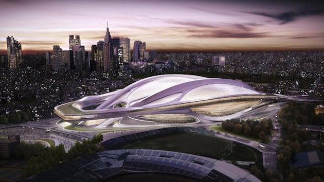 The Olympic stadium, one of the main venues proposed by Tokyo for the 2020 Olympics (Reuters)