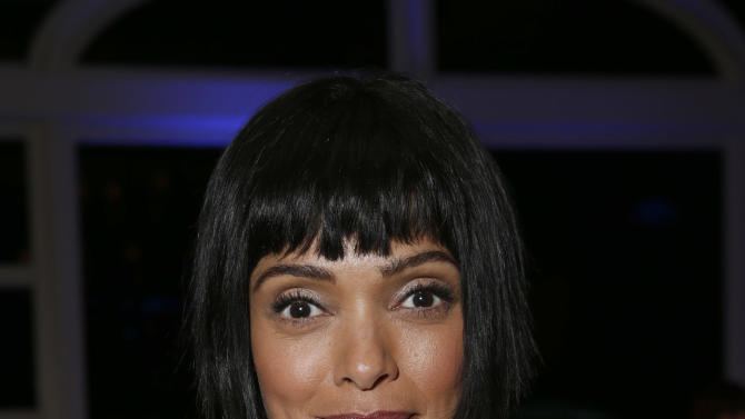 Tamara Taylor attends the Fox Winter TCA All Star Party at the Langham Huntington Hotel on Tuesday, Jan. 8, 2013, in Pasadena, Calif. (Photo by Todd Williamson/Invision/AP)