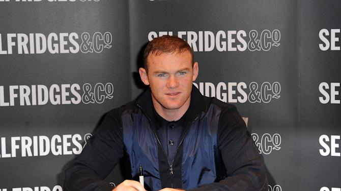 Wayne Rooney signing copies of his book 'Wayne Rooney: My Decade In The Premier League' at Selfridges, Trafford Centre ManchesterManchester, England - 25.10.12Mandatory Credit: Steve Searle/WENN.com