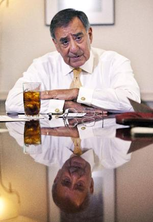 Defense Secretary Leon Panetta is interviewed by The Associated Press, Monday, Aug. 13, 2012, at the Pentagon.   (AP Photo Manuel Balce Ceneta)