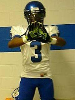 Trinity Catholic 7th grade football star Tyreke Johnson — Trinity Catholic football