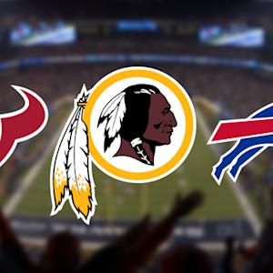 'Hard Knocks' finalists: Redskins, Texans and Bills