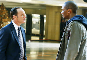 Clark Gregg and J. August Richards | Photo Credits: Justin Lubin/ABC