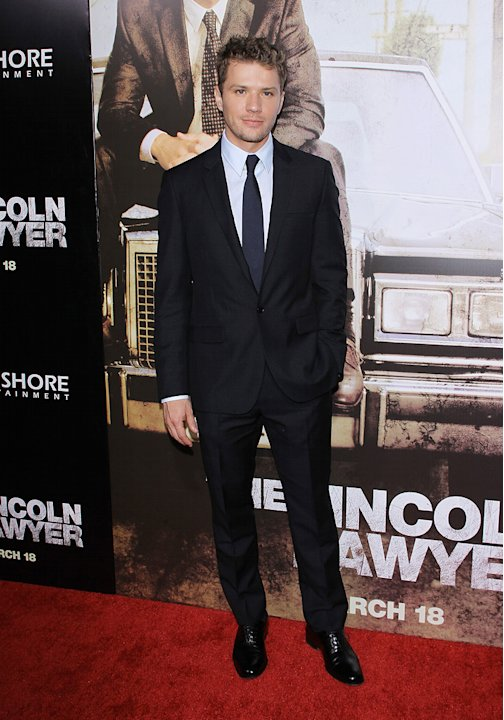 Lincoln Lawyer LA Premiere 2011 Ryan Phillippe