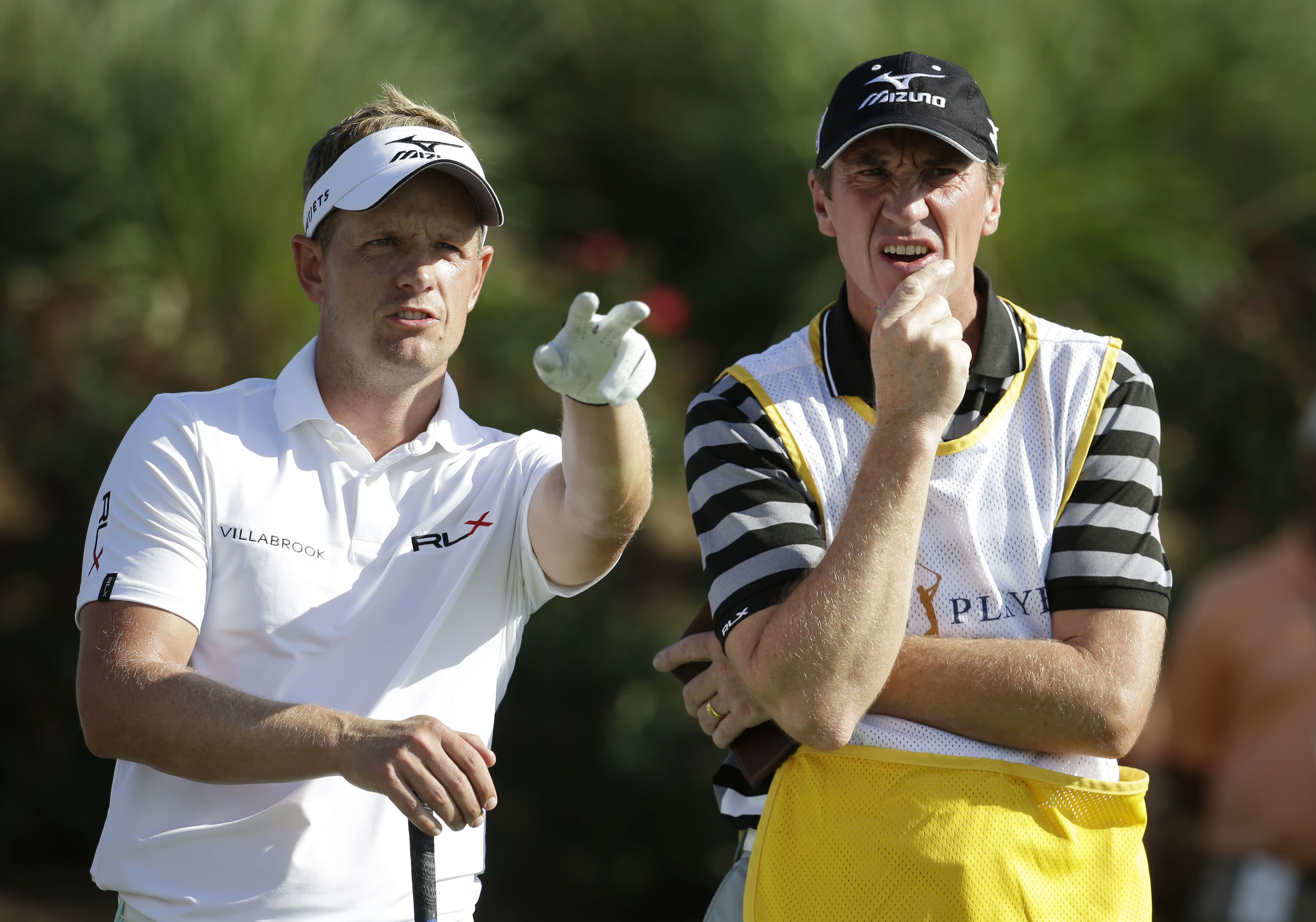 Luke Donald needs a new caddie after his old one fired him