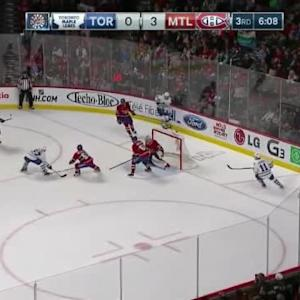 Carey Price Save on Brandon Kozun (13:52/3rd)
