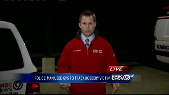 OP woman says burglar tracked her with GPS