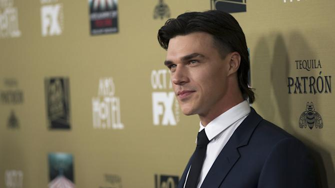 "Cast member Wittrock poses at a premiere screening of ""American Horror Story: Hotel"" in Los Angeles"