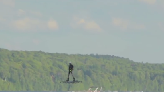 Back to the Future! Real-Life Hoverboard Breaks Record