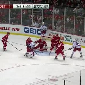 Jimmy Howard Save on Rick Nash (08:39/3rd)