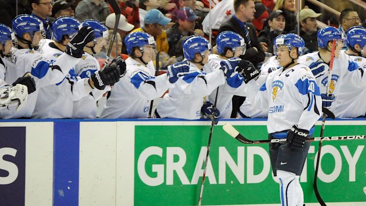 2012 World Junior Hockey Championships - Finland v United States