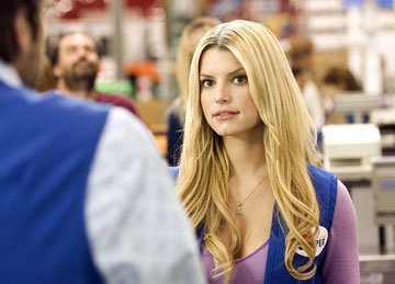 Jessica Simpson in Lionsgate Films' Employee of the Month