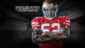 All-Pro Linebacker Patrick Willis Joins Rawlings Football's Advisors