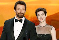 Hugh Jackman and Anne Hathaway | Photo Credits: Mark Davis/Getty Images
