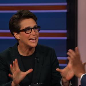 Rachel Maddow Reluctantly Reveals Which GOP Candidate She'd Vote for if Forced