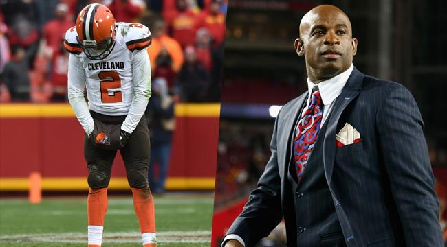 Did Deion Sanders Really Blame Johnny Manziel's Girlfriend For The QB's Issues?
