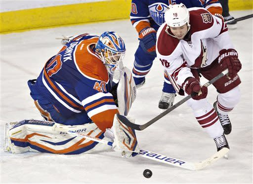 Coyotes beat Oilers 3-1