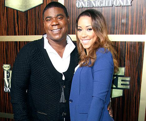 Tracy Morgan, Fiancee Megan Wollover Expecting First Child Together