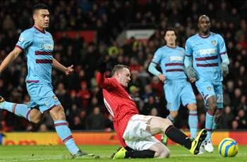 Manchester United 1-0 West Ham: Rooney marks return with goal to dump Hammers out