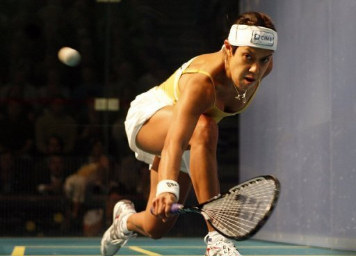 A Malaysian national heroine, the lightning-quick Nicol David has won virtually every title squash has to offer