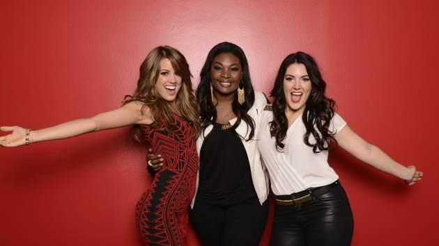 Angie Miller, Candice Glover and Kree Harrison from 'American Idol' Season 12 -- FOX