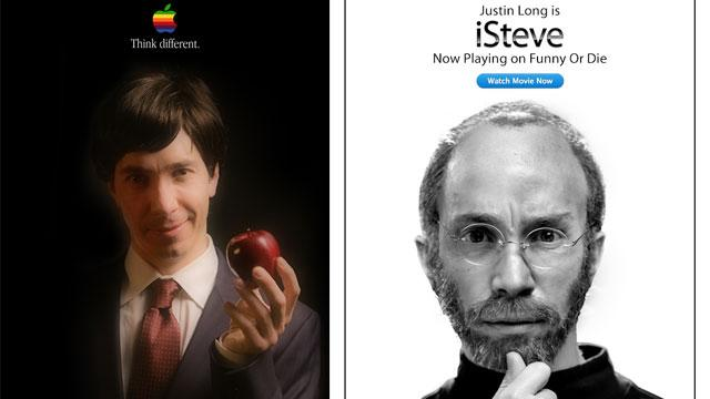 Watch Justin Long's 'Funny' Steve Jobs Biopic